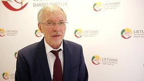 LSDDP pirmininkas Gediminas Kirkilas tikisi, kad po rinkimų partija gerokai sustiprins savo pozicijas