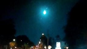 Naktį staiga nušvietęs fenomenalus reiškinys privertė pakelti akis į dangų