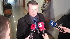 Prokuroras T.Čepelionis: kaltinamasis bijo, kad su juo Rusijoje susidoros vyriausybė