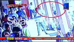 Paviešintas vaizdo įrašas, kuriame užfiksuota, kaip savižudis sprogdintojas įžengia į bažnyčią