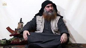 IS lyderis A.B. al Baghdadi pirmą kartą po penkerių metų pertraukos pasirodė propagandiniame vaizdo įraše