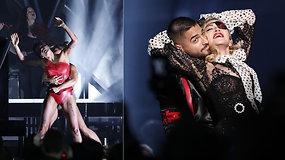 """Pamatykite: įspūdingi žvaigždžių pasirodymai """"Billboard"""" muzikos apdovanojimuose"""