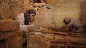 Archeologus nustebino atradimas prie Gizos piramidės: šie kapai yra svarbus įrodymas pasauliui