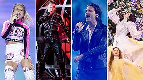 """Paaiškėjo pirmieji """"Eurovizijos"""" finalininkai: iš 17 šalių liko 10, finalas – be portugalo ir Lenkijos kvarteto"""