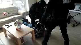 Suduotas smūgis tarptautiniam organizuotam nusikalstamumui: išaiškintas ginkluotas susivienijimas