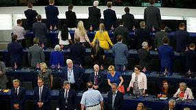 """Akiplėšiškas """"Brexit"""" remiančių europarlamentarų elgesys supykdė EU"""