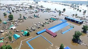 Mirtį sėjantis potvynis Sibire kelia gyventojų įtūžį – kaltina apie pavojų nepranešusią valdžią