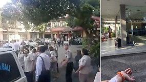 Atostogų rojaus saloje kilus panikai, žmonės bėgo iš namų – Balį supurtė žemės drebėjimas