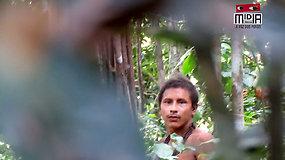 Paviešinti reti ir su pasauliu nekontaktuojančios genties vaizdai išryškina jiems kilusią grėsmę