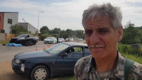 """""""Toyota"""" vairuotojas apie tragiškai pasibaigusią avariją: motociklininkas važiavo žvėriškai greitai"""