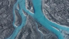 Nufilmuoti katastrofiški klimato kaitos padariniai: Grenlandijoje per dieną ištirpo 11 mlrd. t ledo