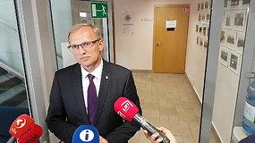 TT vadovas komentavo E.Misiūnio galimybes grįžti iš ministrų į teisėjus