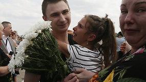 Emocinga Kijevo ir Maskvos derybų pabaiga: Ukraina ir Rusija apsikeitė kaliniais
