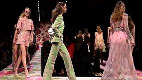 """Milane pristatyta naujausia """"Blumarine"""" kolekcija – romatiškai ir elegantiškai moteriai"""