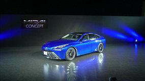 """Toyota Mirai Concept"": vandeniliu varomas automobilis gniaužia kvapą"