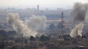 """R.T.Erdoganas: Turkija """"niekada negalės paskelbti ugnies nutraukimo"""" Sirijos šiaurėje"""