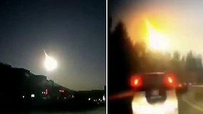 Gyventojus nustebino į žemę trenkęsis neaiškus kosminis kūnas – mokslininkai įtaria nukritus meteoritą