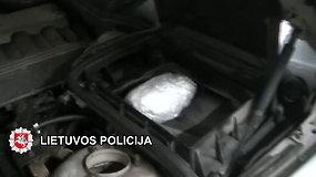 Sulaikyti septyni vyrai narkotikus platinę Plungėje