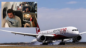 Ilgiausias pasaulyje skrydis be sustojimo: kaip reaguoja žmogaus kūnas į 20 val. kelionę ore?