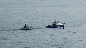 Rusija rengiasi perduoti Ukrainai netoli Krymo krantų pernai sulaikytus laivus