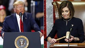 D.Trumpas tapo trečiuoju JAV prezidentu istorijoje, kuriam pradėta apkalta: teks stoti prieš Senato teismą