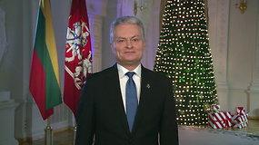 Prezidentas Gitanas Nausėda: tegul šie metai mus įkvepia dirbti vienas kito gėrybei!