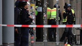 Berlyno centre – šūviai: policija pranešė kontroliuojanti situaciją