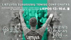 Lietuvos teniso čempionatas: vyrų ir moterų vienetų pusfinaliai