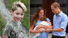 Princui George'ui – 7-eri: mama Catherine įamžino ūgtelėjusį būsimą sosto paveldėtoją