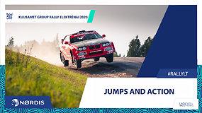 """""""Kuusamet Rally Elektrėnai"""" – šuoliai, veiksmas, lenktynininkų klaidos ir kitas ralio grožis"""