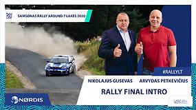 """Artėja finalinis Lietuvos ralio čempionato etapas """"Samsonas Rally Around 7 Lakes"""""""