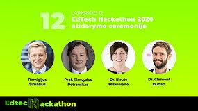 Edtech Hackathon 2020: Atidarymo ceremonija