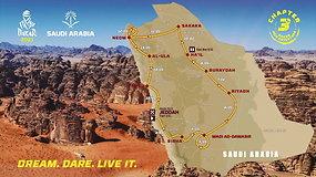 """""""Dakaro ralis 2021"""": organizatoriai pristatė maršrutą – lengvų lenktynių tikėtis neįmanoma"""