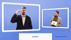 #KalbėkimeGestais: mokydamiesi gestų kalbos galite praplėsti savo bendravimo galimybes
