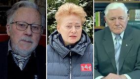 Buvę šalies vadovai kreipiasi į Lietuvos žmones: priešas nematomas, bet jo aukos krenta kasdien