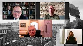 Diskusija apie pilietinės galios augimą su G.Nausėda, G.Liaudansku-Svaru ir A.Paukščiu