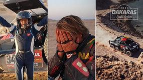 """Dakaro apžvalga su A.Paliukėnu: viename """"šlykščiausių"""" ruožų kritę lyderiai ir B.Vanago vieta dešimtuke"""