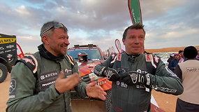 """A.Juknevičius: """"Tai ką, pusę Dakaro įveikta"""""""