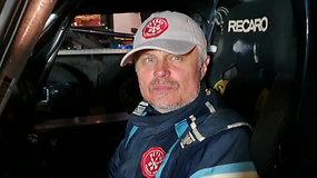 """G.Petrus apie priešpaskutinį greičio ruožą: """"Važiavome patys savo Dakarą"""""""