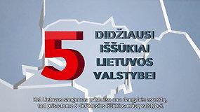 Grėsmės Lietuvos nacionaliniam saugumui: penki didžiausi iššūkiai