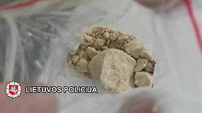 Į Klaipėdos kriminalistų rankas pakliuvo narkotinių medžiagų platinimu įtariama moteris