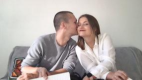 """""""Černobylio"""" butą Fabijoniškėse įkūrę Rasa ir Linas apie pirmąjį bučinį: """"Mes laiku sustojome"""""""