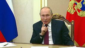 """Žudiku pavadintas V.Putinas sureagavo: """"Kas ant kito sako – ant savęs pasisako"""""""