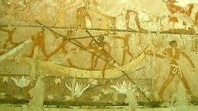 Egipte rastas ypatingas ir retas 4,4 tūkst. metų senumo dvasininkės kapas