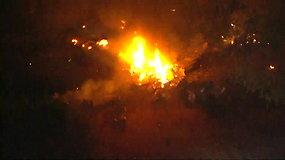 Arizonoje sudužo lengvasis lėktuvas – žuvo šeši žmonės