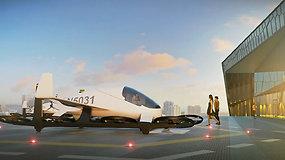 Pralenkę laiką: Majamyje įrengta stovėjimo aikštelė skraidantiems automobiliams