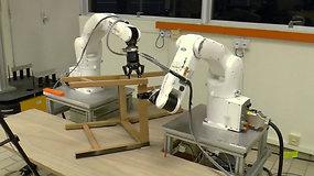 Patiems surinkti baldus nebereikės – tą padarys robotai