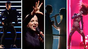 """Pasižiūrėkite 2018 m. """"Eurovizijos"""" TOP 10 pasirodymus"""