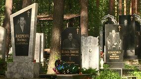 Apie kruviną ir žiaurų Rusijos gaujų karą primena prabangios kapinės Jekaterinburge