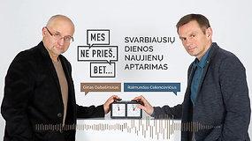"""""""Mes ne prieš, bet..."""": V.Putinas, korupcija, """"Swedbank"""", R.Malinauskas ir net I.Šimonytės plakatas"""
